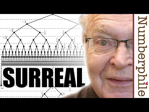 Surreal Numbers (writing the first book) - Numberphile