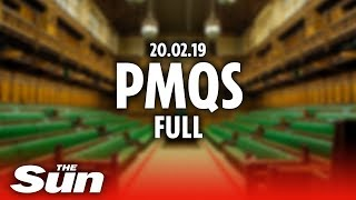 PMQs in full (20.02.19) - THESUNNEWSPAPER