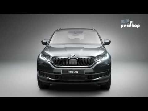 Autoperiskop.cz  – Výjimečný pohled na auta - VIDEO NOVINKA – ŠKODA KODIAQ – Autosalon Paříž 2016