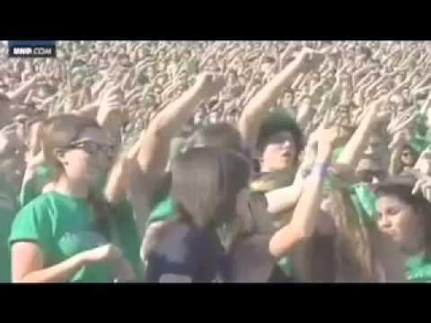 Notre Dame vs. Navy - Ireland 2012