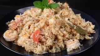 Shrimp (Prawn) Biryani..