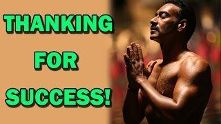 Ajay Devgn's spiritual side!   Bollywood News - ZOOMDEKHO