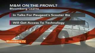 Newsroom: Why Is M&M Interested In Peugeot? - BLOOMBERGUTV