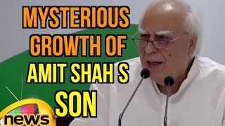 Kapil Sibal's on mysterious growth of wealth of Amit Shah's son Jay Shah | Mango News - MANGONEWS