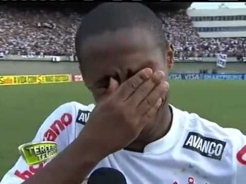 Brazilian Footballer Elias CRYING Loudly FUNNY
