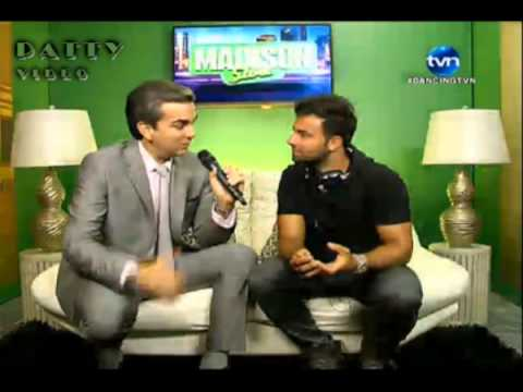 Jencarlos Canela en Dancing with the Stars Panama Parte 1