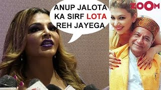 Rakhi Sawant's SHOCKING Interview About Anup Jalota's KAAND with girlfriend Jasleen Matharu - ZOOMDEKHO