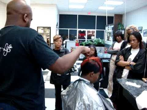 How to cut a MOHAWK haircut on black hair
