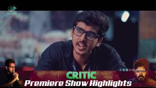 CRITIC  Latest Telugu Short film Premiere Show Highlights | Klaprolling - YOUTUBE
