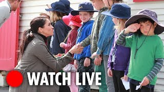 LIVE: Meghan Markle visits children's care home - THESUNNEWSPAPER