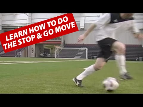How To Do The Change Pace Soccer Football Move