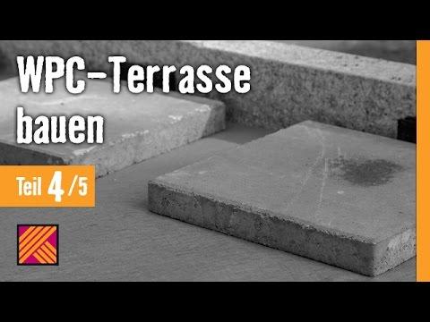 Wpc terrasse bauen