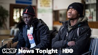 What It's Like For Migrants Making The Perilous Trek Into France (HBO) - VICENEWS