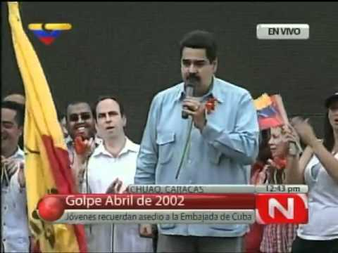 Canciller venezolano dice que los de la oposicion son ricos maricones y fascistas
