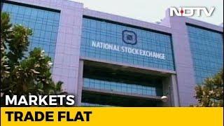 Sensex, Nifty Move In A Narrow Range - NDTV