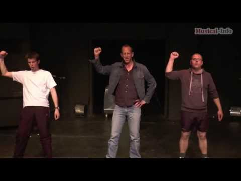 Musicalcompagnie Mithe met de billen bloot: 'The Full Monty'