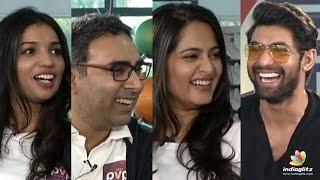 Rana Interviews Size Zero Movie Team || Anushka, Arya || Prakash Rao Kovelamudi - IGTELUGU