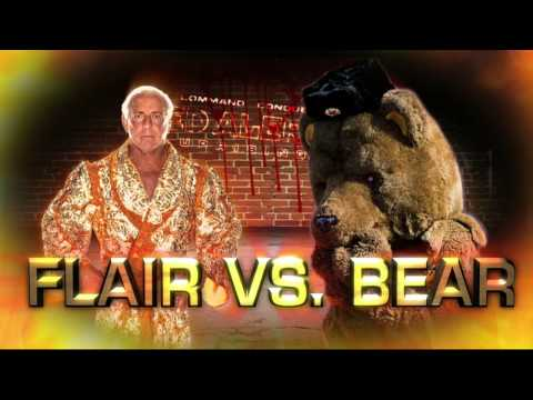 Ric Flair Cuts a Promo on that Damn Soviet Bear!  Command &