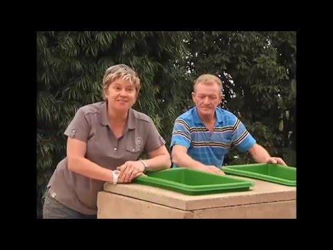 The Gardener Magazine: Making A Concrete Raised Vegetable Planter