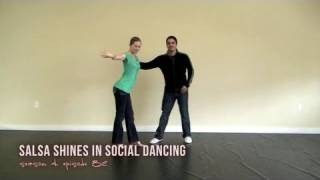How to do Salsa Shines in Social Dancing