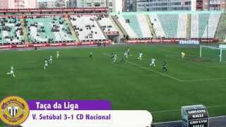 Vitoria Setubal 3 - 1 CD Nacional