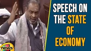 Navaneethakrishnan's Speech on the State of Economy | Rajya Sabha | Mango News - MANGONEWS