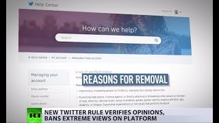 Twitter: No 'blue ticks' for far-right accounts - RUSSIATODAY
