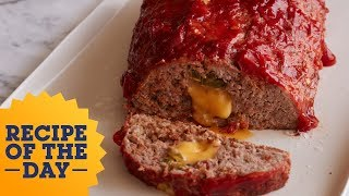 Stuffed Queso Meatloaf | Food Network - FOODNETWORKTV