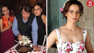 Randhir Kapoor's Birthday Brings The Kapoor Family Together | Kangana Hires Hrithik's Ex Manager - ZOOMDEKHO