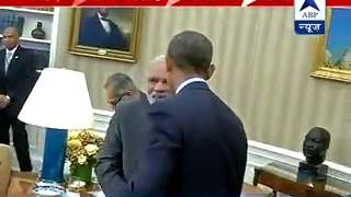 PM Modi invites US President Barack Obama to be Chief Guest at next Republic Day - ABPNEWSTV