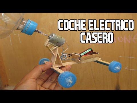 Como Hacer un Coche o Carro Electrico Casero Muy Facil Que si Funciona