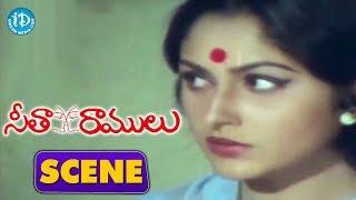 Seetha Ramulu Movie Scenes - Workers Hurt Jayaprada    Krishnam raju - IDREAMMOVIES