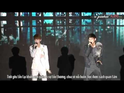 [T.A.T][Vietsub + Kara] LuHan &amp; Chen (EXO-M) - WHAT IS LOVE (EXO Showcase) { EXOticsvn }