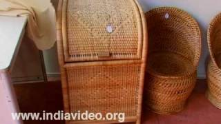 Bamboo baskets and utensils, Dilli Haat, New Delhi