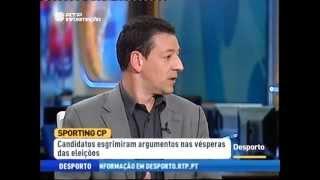 Debate Eleições Sporting 2013 na RTP - Análise e Resumo