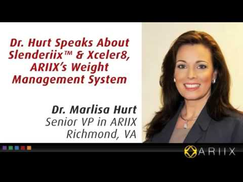 Dr Marlisa Hurt on Slenderiiz weight loss www.slenderiizbody.com