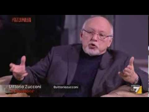 """Friedman vs Zucconi su caso Napolitano: """"Il tuo padrone Carlo De Benedetti"""""""