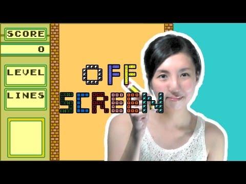 Tetris offscreen