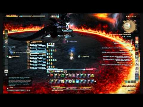 FFXIV: Ultima's Bane: Hard Mode- Ultima Weapon White Mage POV