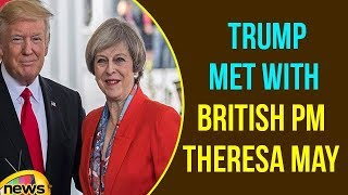 President Trump and British Prime Minister May Bilateral Meeting | Trump speech | Mango News - MANGONEWS