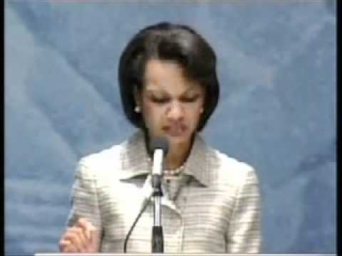 2005 Flashback: Condoleezza Rice Calls for Freedom & Democracy in Egypt