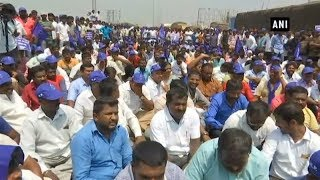Dalit organisation holds protest against SC/ST Protection Act in TN's Hosur - TIMESOFINDIACHANNEL