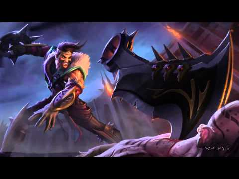 League of Legends - Draven Login Screen and Music [1080p]