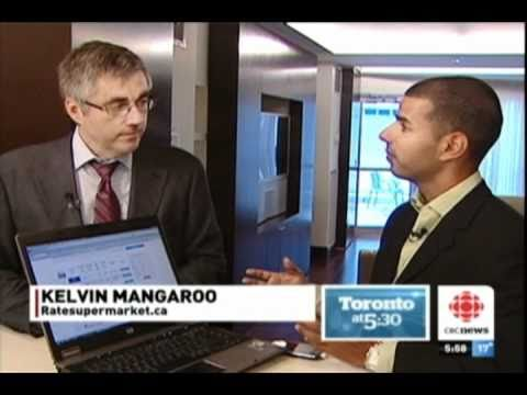 RateSupermarket.ca on the CBC Discussing the Bank of Canada Interest Rate Hike