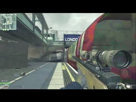 MW3 NEW L118A Bolt-Action Sniper | GAMEPLAY & All Snipers (Call Of Duty: Modern Warfare 3)