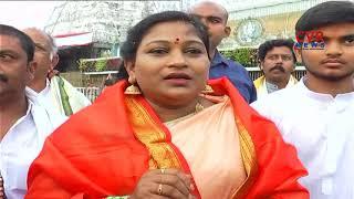TDP MLA Anitha Visits Tirumala Tirupati | CVR News - CVRNEWSOFFICIAL