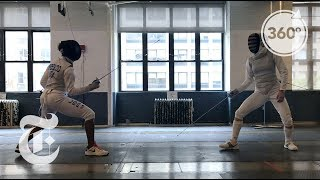 En Garde! A Summer Of Swords In New York | The Daily 360 | The New York Times - THENEWYORKTIMES