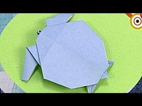Çocuklar İçin Origami Turtle (Öğretici) – Kağıttan Arkadaşlar 10