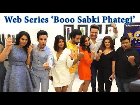 Mallika Sherawat at Comeback In Web Series Booo Sabki Phategi  Floppies Tushar Kapoor