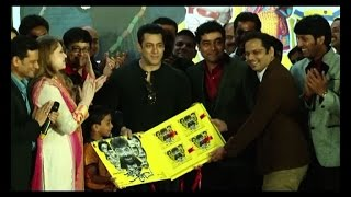 Salman Khan launches 'Sanngto Aika' Music - IANSINDIA